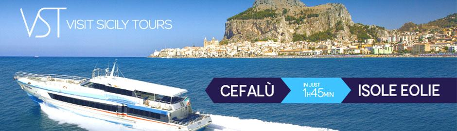 Cefalu website: Vst Visit Sicily Tours 2, Boat Services in